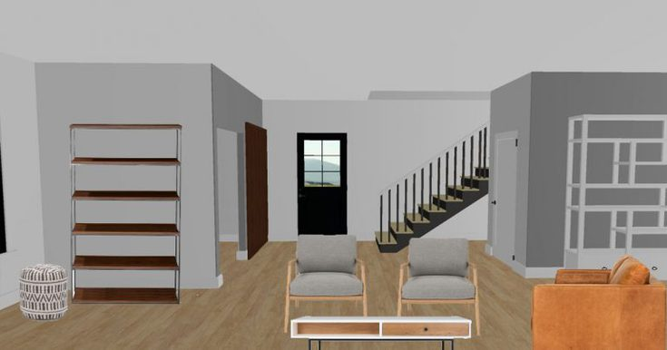 Modern Farmhouse Living Room Design