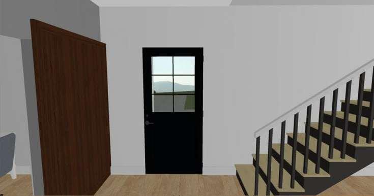 modern farmhouse living room 5