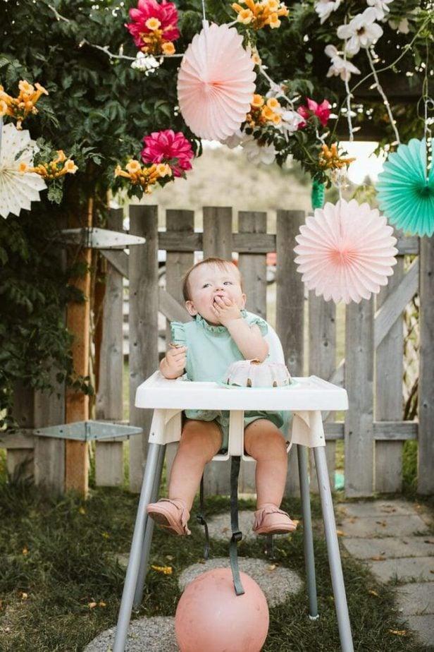 Garden Party First Birthday