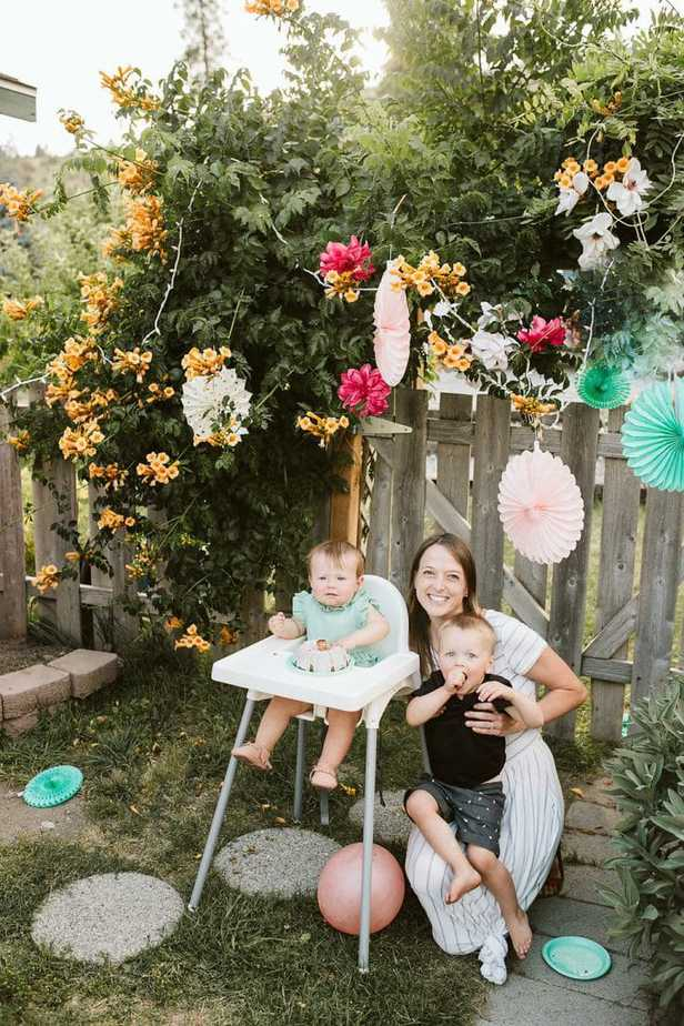 First Birthday Garden Party
