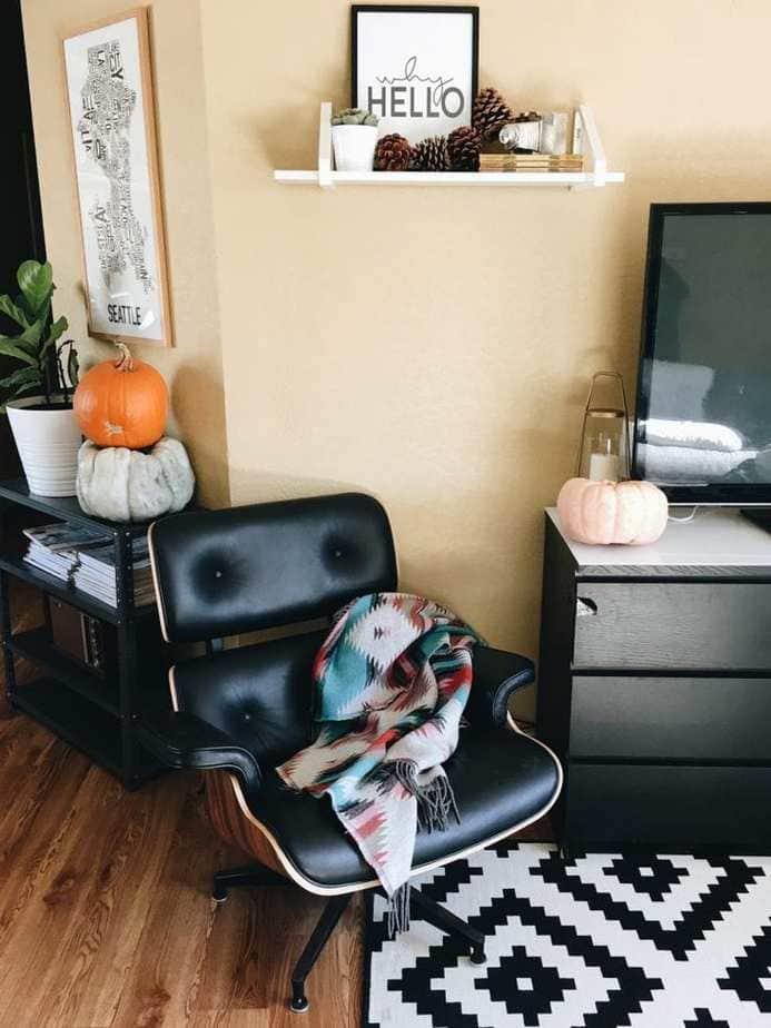Modern Fall Decor on a Budget