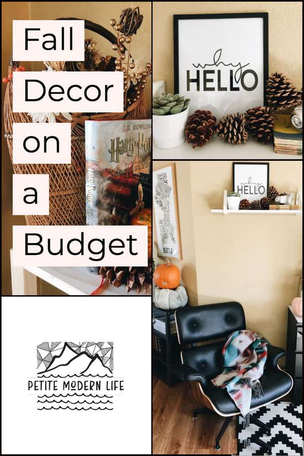 Modern Fall Decor on a Budget