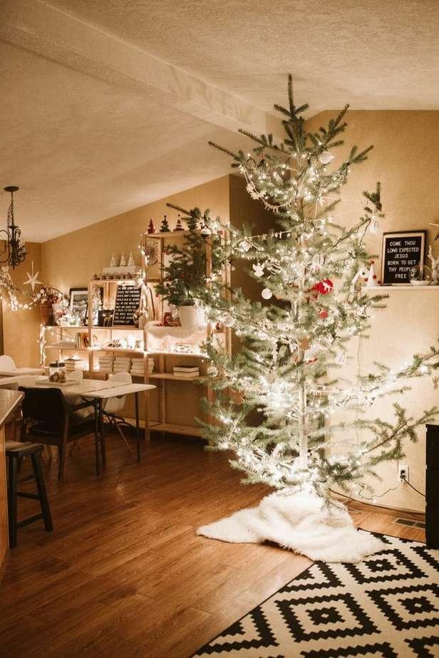 Scandinavian Christmas Home Tour | Petite Modern Life
