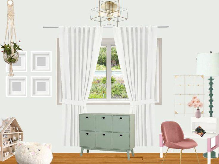Whimsical Vintage Big Girl Room