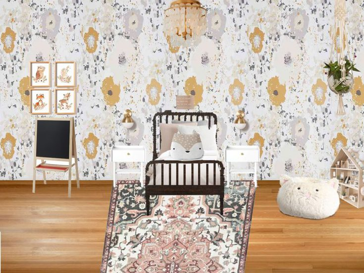 Vintage Whimsical Big Girl Room