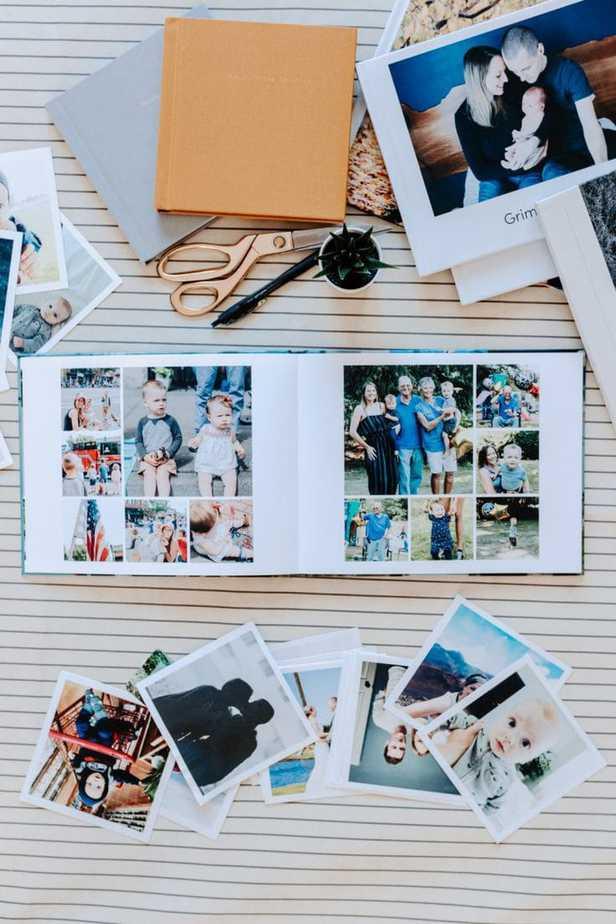 How I Design My Picaboo Flatlay Photobooks