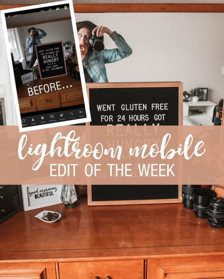 Lightroom Mobile Photo Edit of the Week