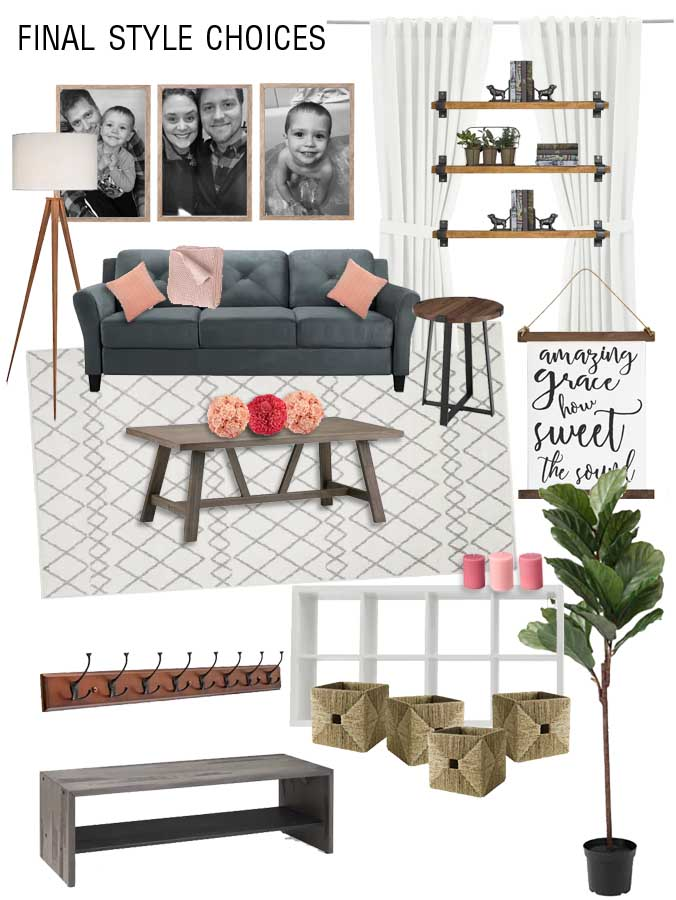How to design a multipurpose tiny living room