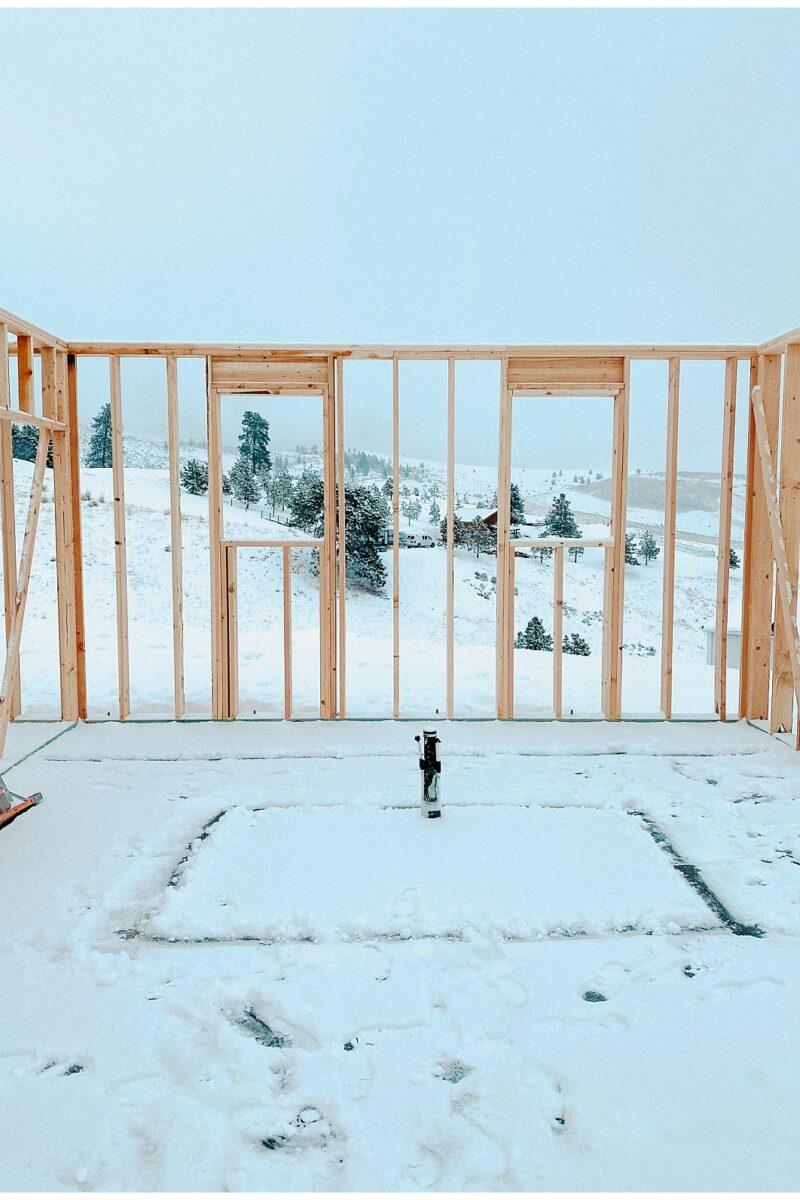 European farmhouse build