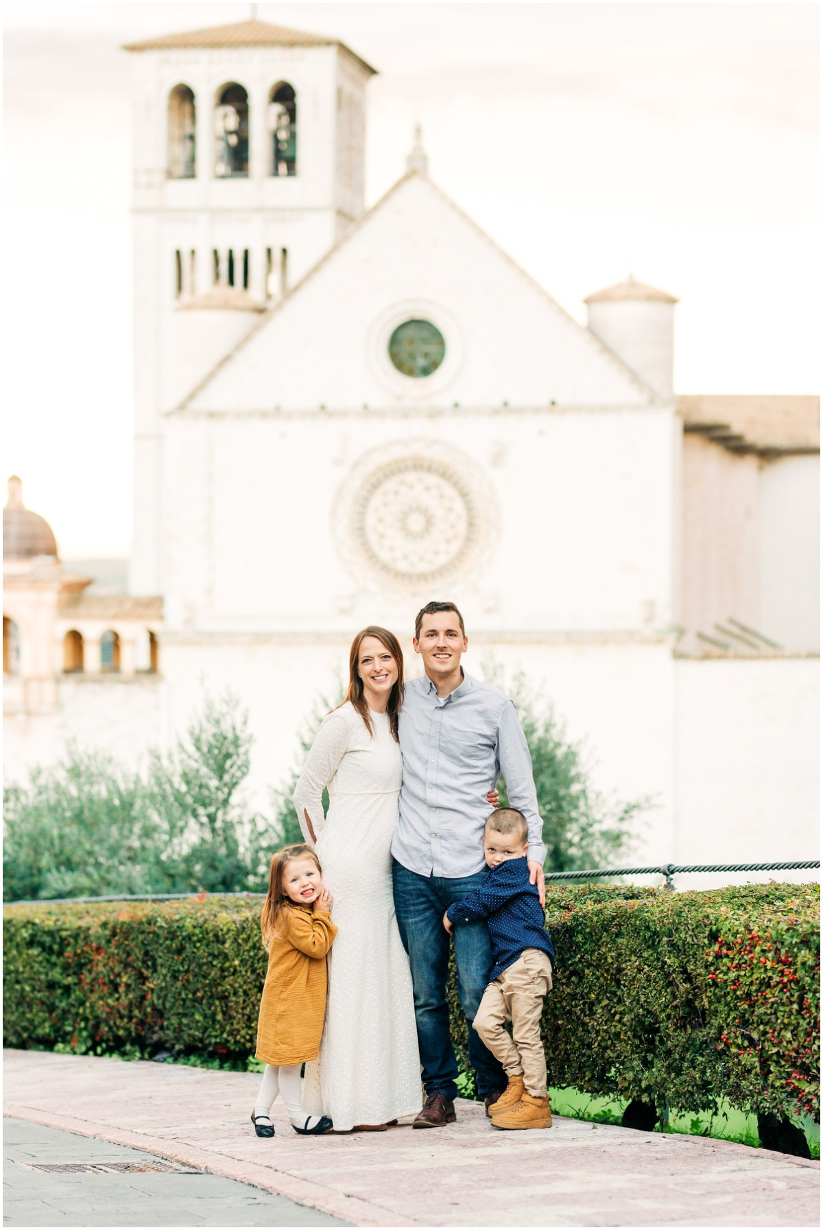 Family Photos in Assisi, Italy