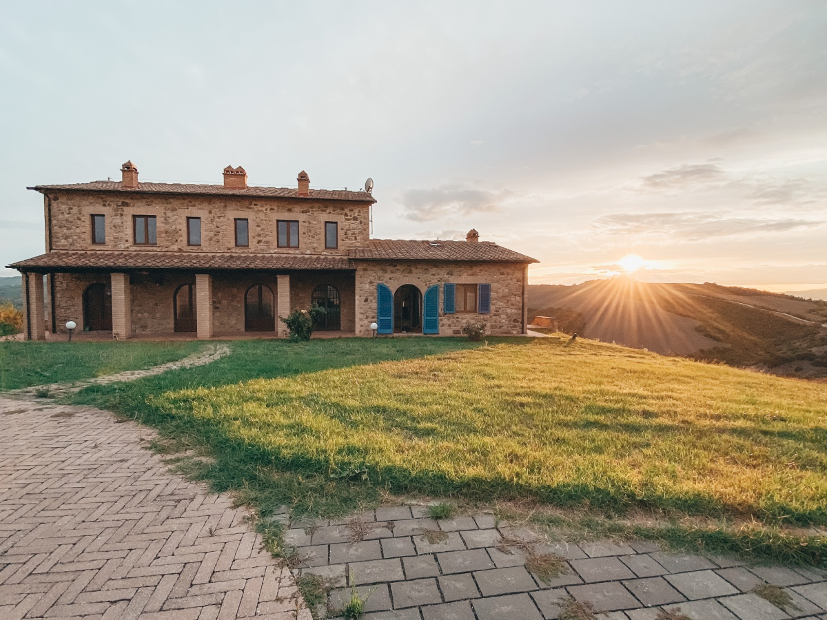 our Tuscan Airbnb