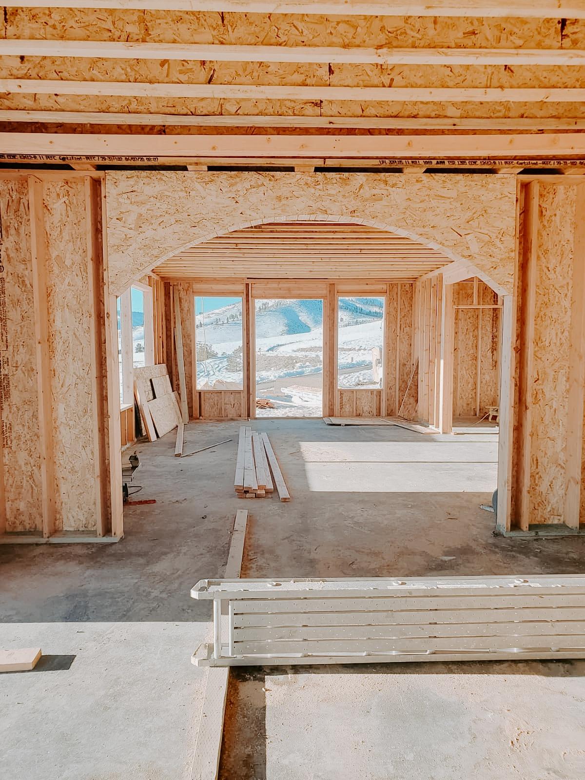 European Farmhouse Build part 2