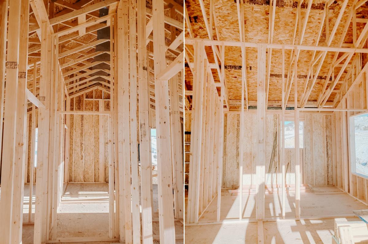 European Farmhouse main suite framed view