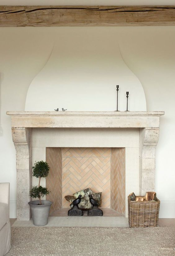 European Inspired Fireplace Designs