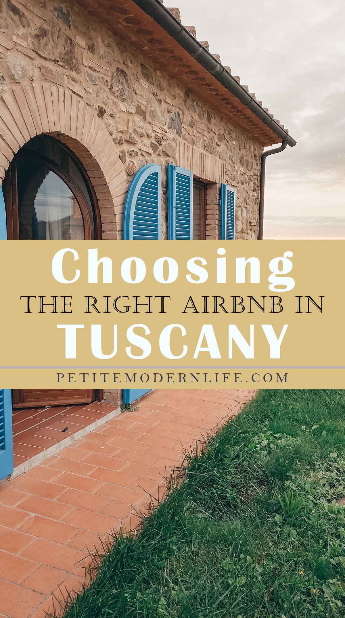 touring Tuscany with kids