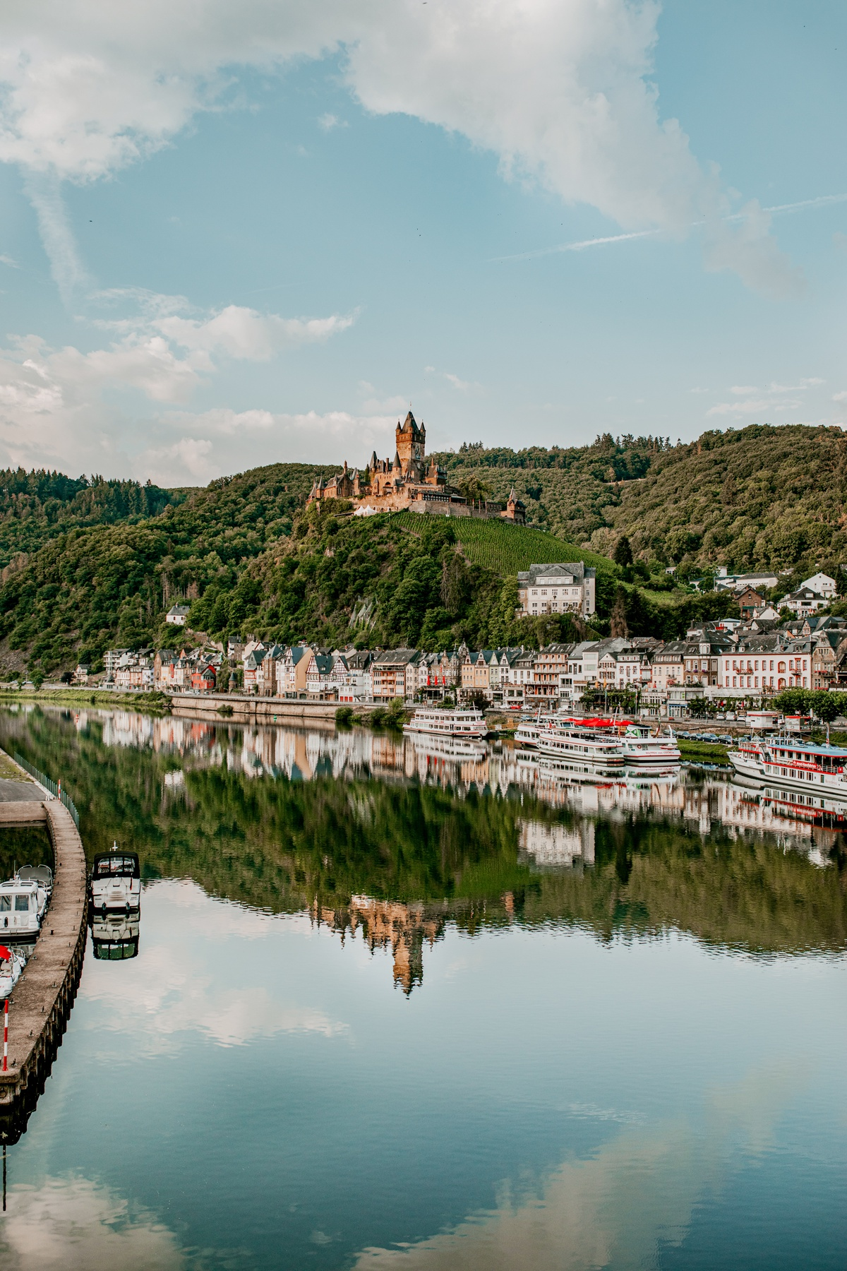 Touring Cochem, Germany with Kids