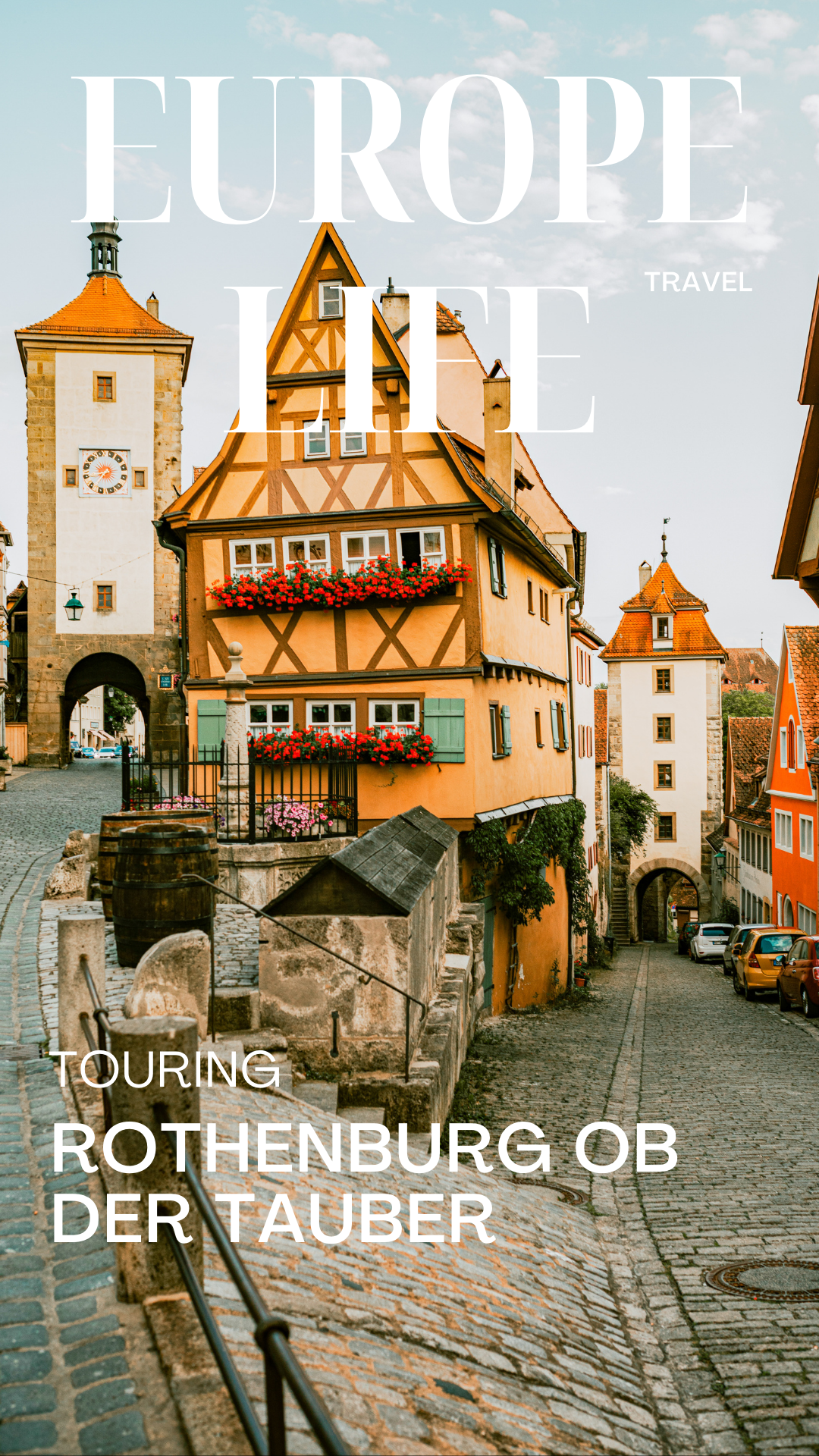 Touring Rothenburg with Kids