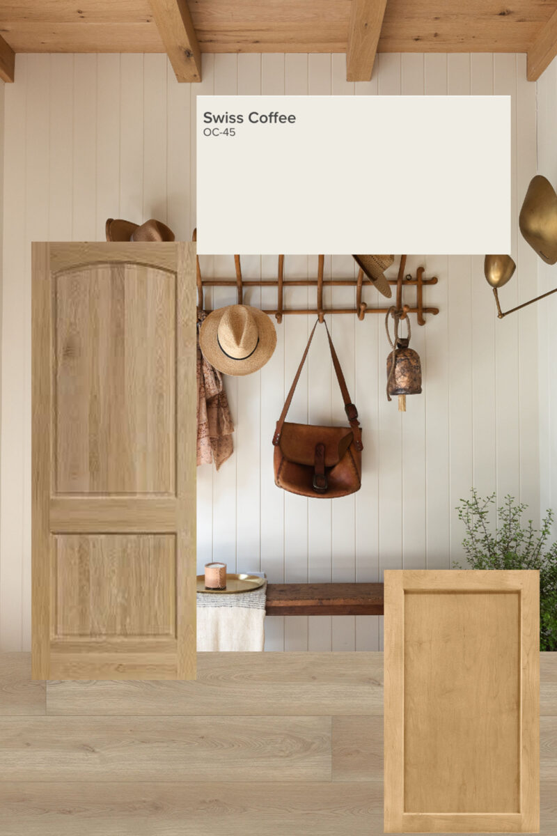 pairing wood accents in your house