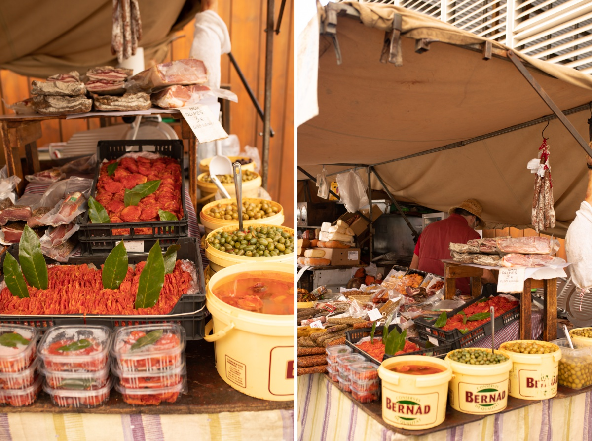 Spanish food to eat at the Inca Market in Mallorca Spain