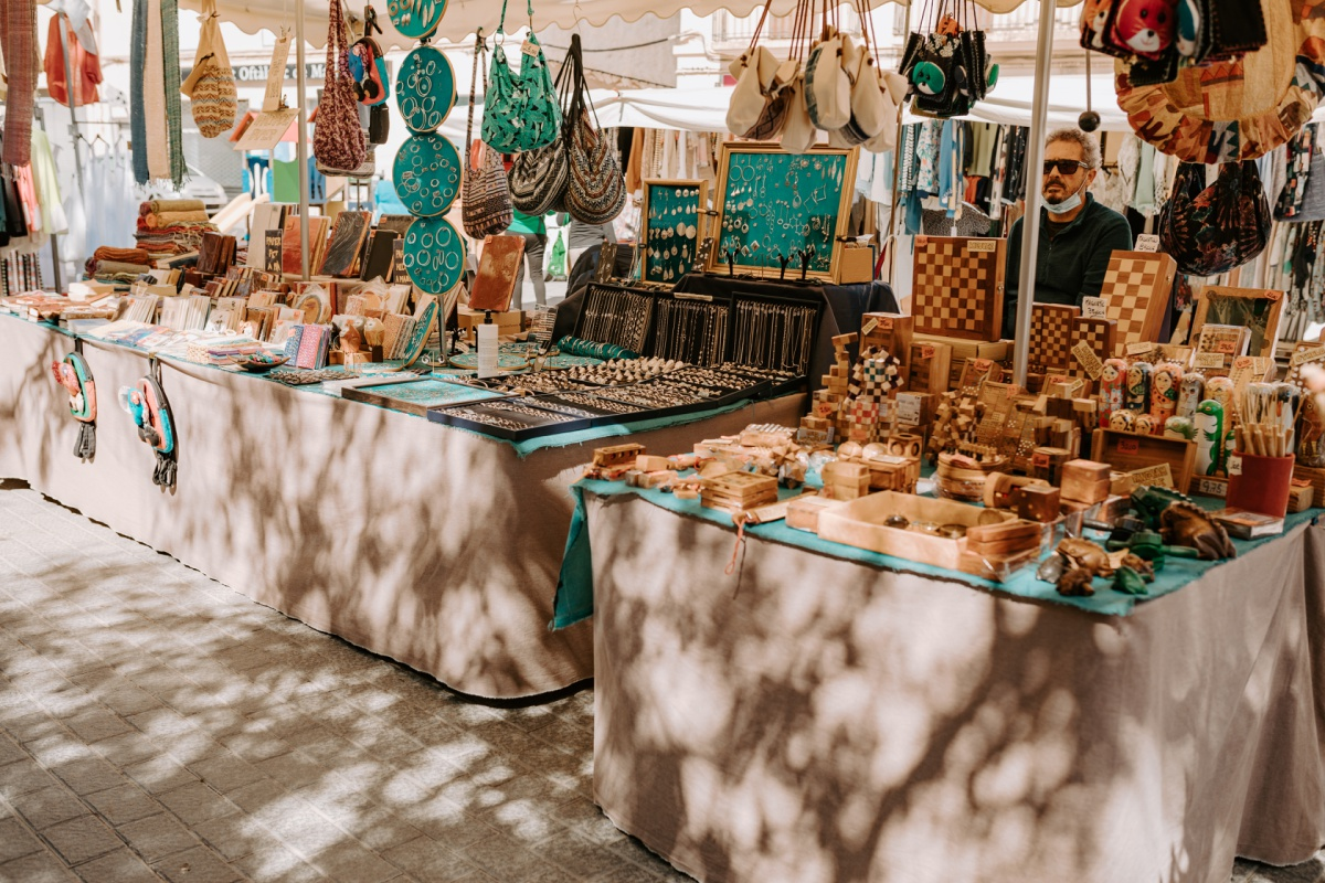 gifts to shop at the Inca Market in Mallorca Spain