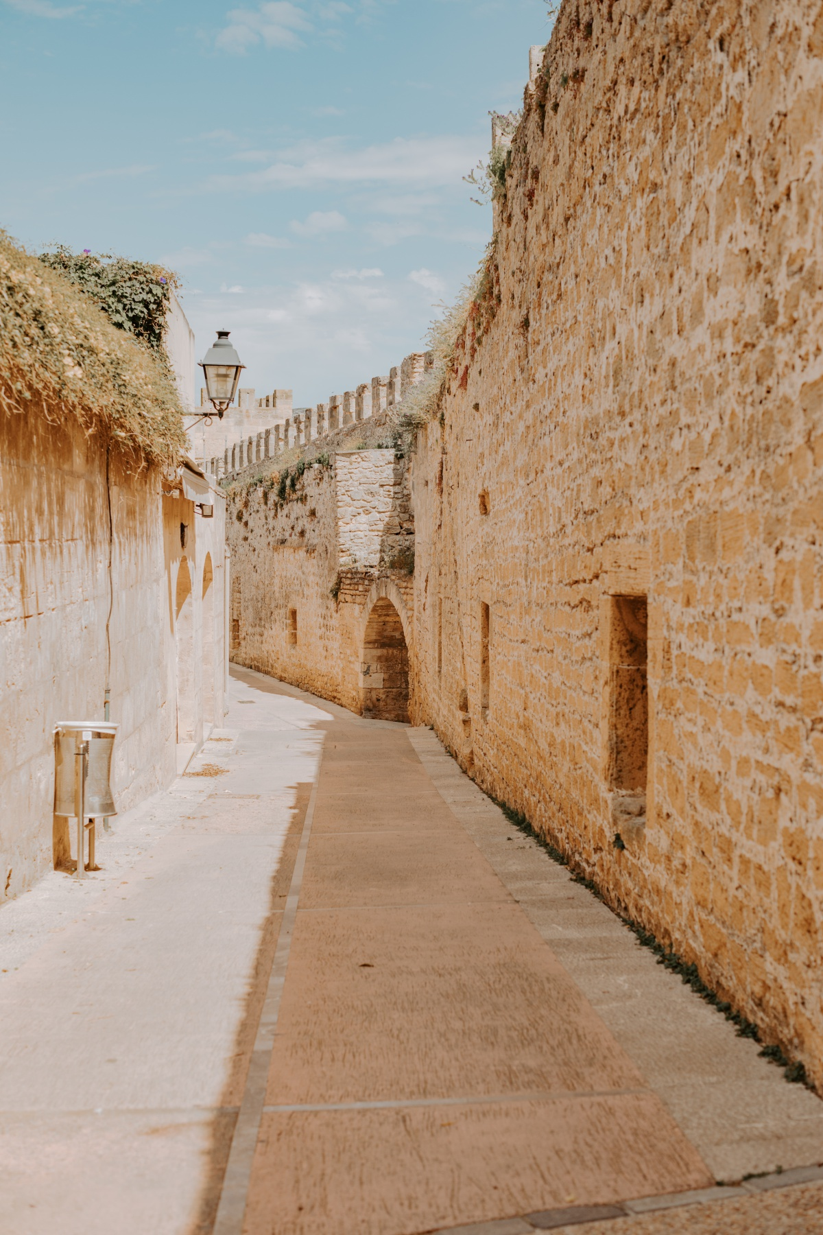 Fort wall around Alcudia Spain