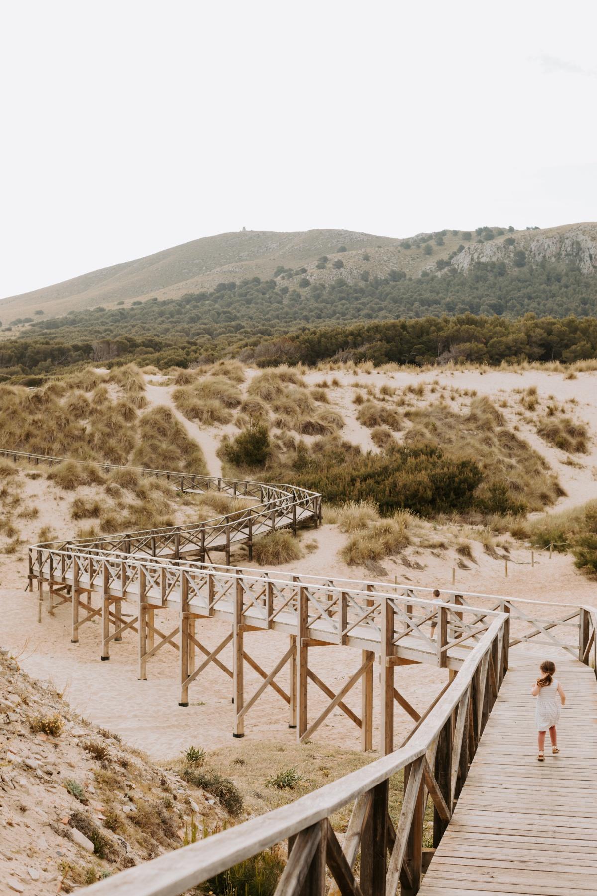 Viva Cala Mesquida Resort beach and boardwalk