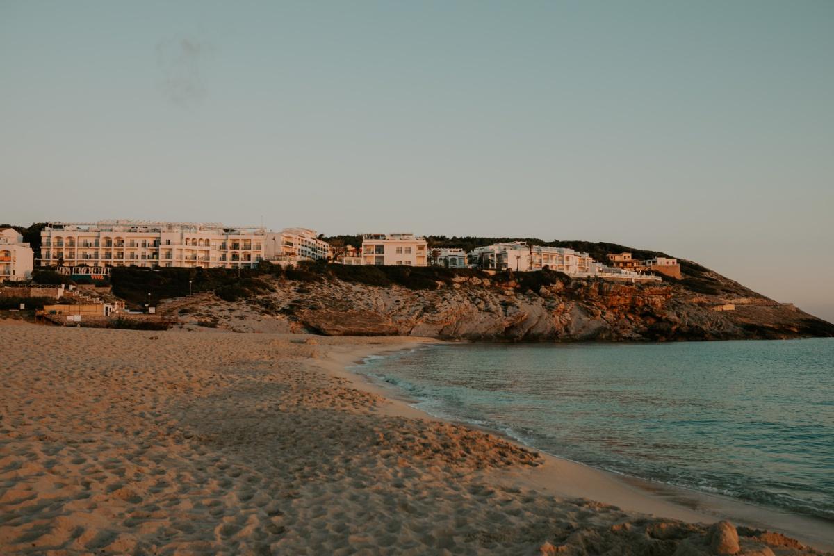 Viva Cala Mesquida resort at sunrise