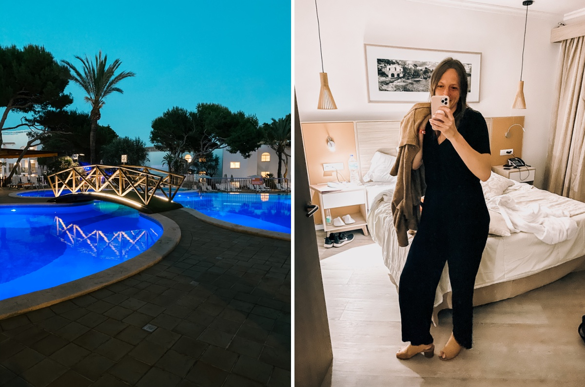 Evening entertainment at the Viva Cala Mesquida Resort