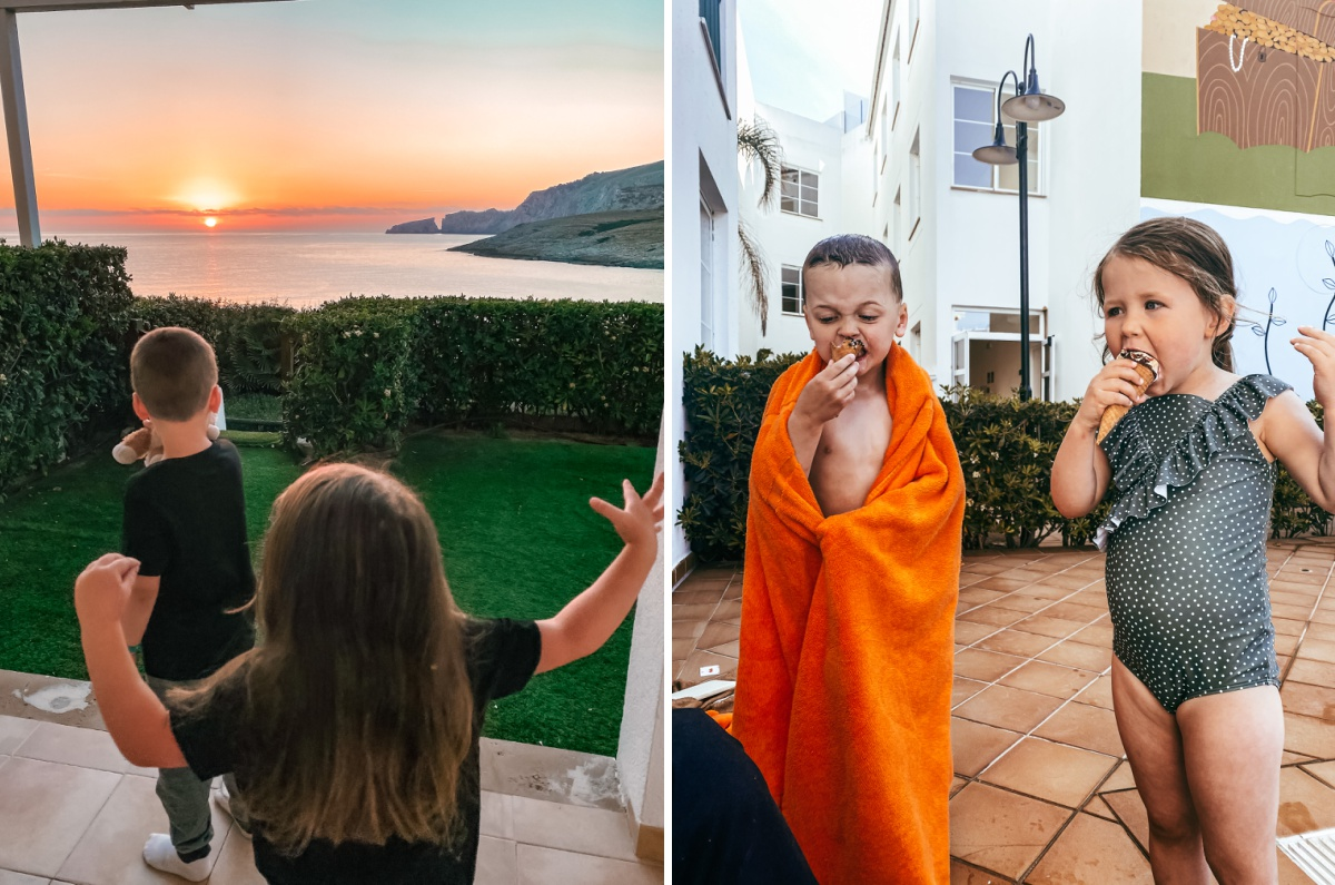 Viva Cala Mesquida Resort kid experience for family vacation