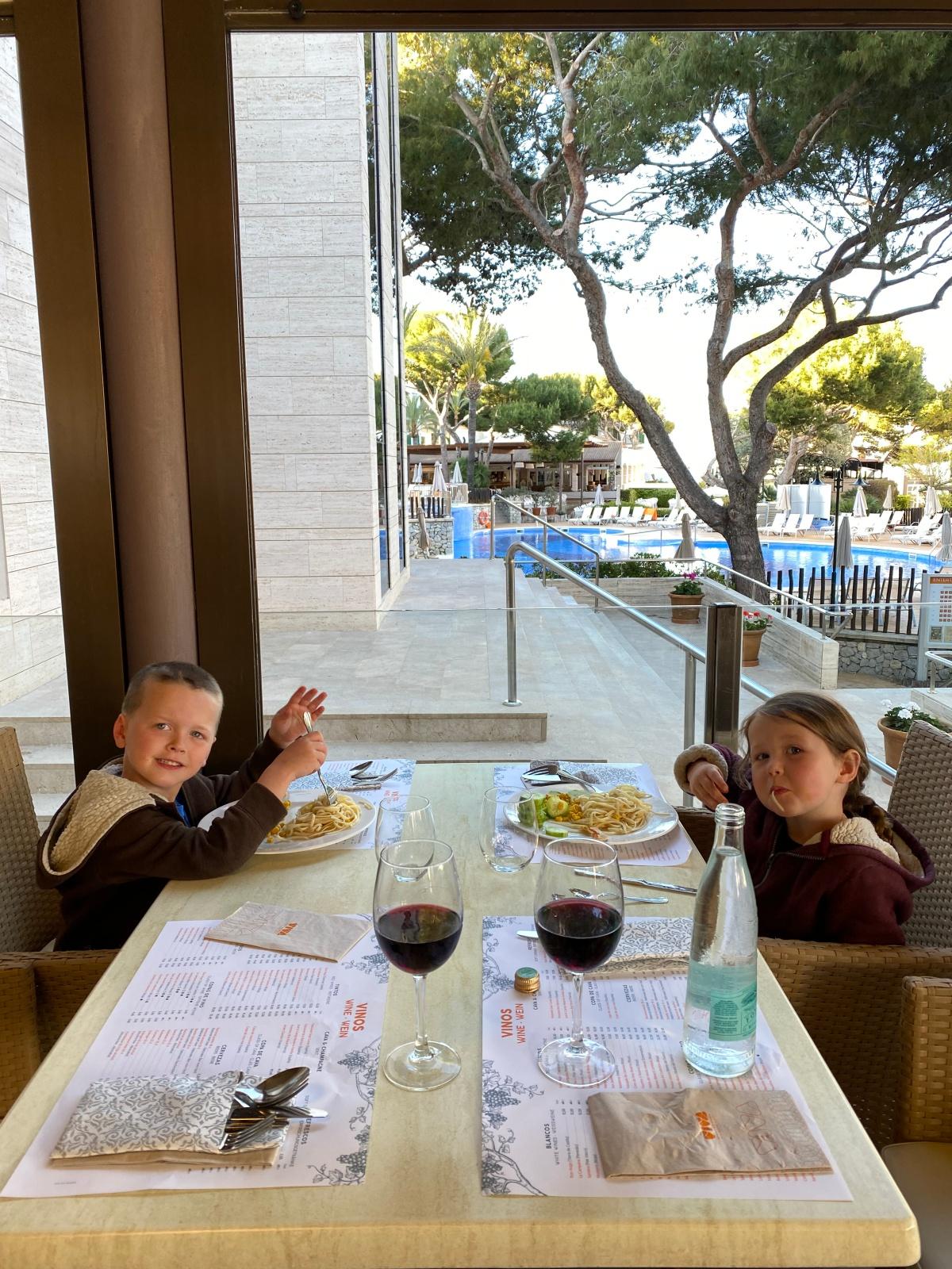 Viva Cala Mesquida Resort Open air Dining